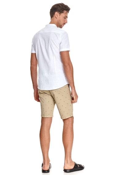 Top Secret Pantaloni scurti din amestec de bumbac cu imprimeu Barbati
