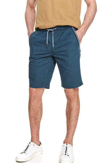 Top Secret Pantaloni scurti de bumbac cu talie elastica Barbati