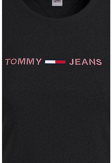 Tommy Jeans Tricou de bumbac organic cu decolteu rotund Femei