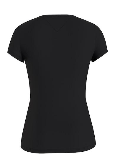 Tommy Jeans Tricou slim fit cu imprimeu logo Femei