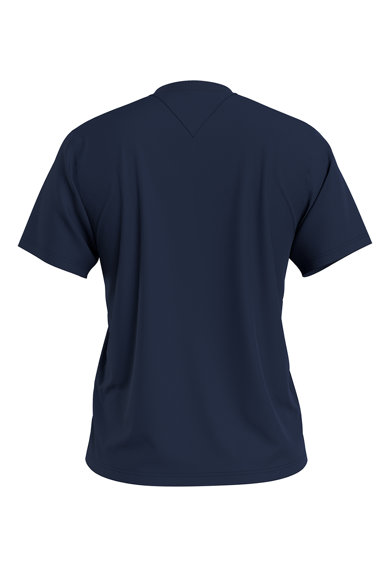 Tommy Jeans Tricou de bumbac organic cu logo pe piept Femei