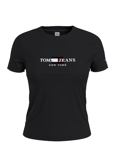Tommy Jeans Tricou de bumbac organic cu imprimeu logo Femei