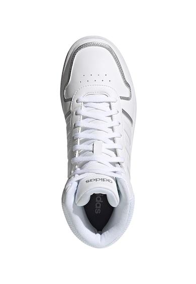 adidas Performance Pantofi sport mid cut din piele ecologica Hoops 2.0 Femei