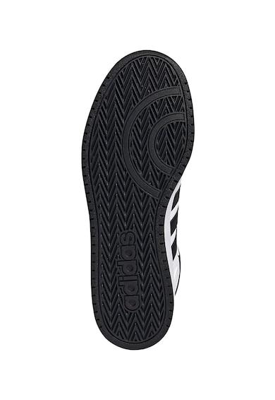 adidas Performance Pantofi sport mid-cut din piele ecologica si material textil Hoops 2.0 Barbati