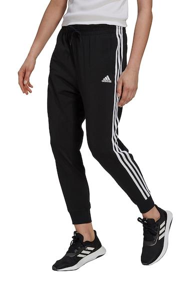 adidas Performance Pantaloni cu talie elastica si logo Femei