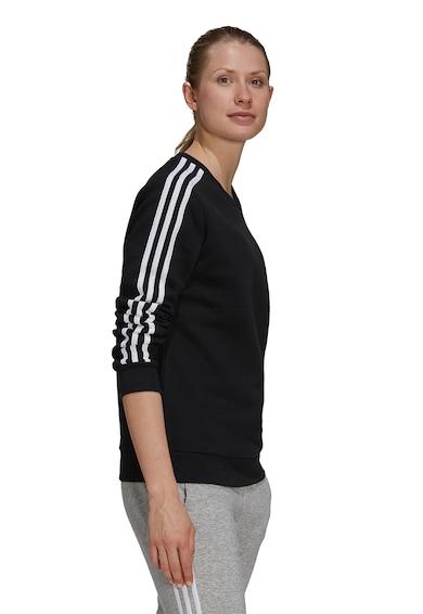 adidas Performance Bluza sport cu logo si decolteu la baza gatului Femei