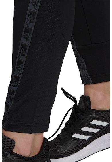 adidas Performance Pantaloni sport cu logo pentru fitness Femei
