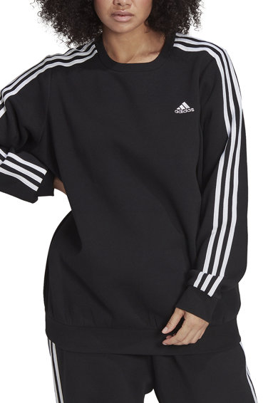 adidas Performance Bluza sport Essentials 3-Stripes Plus Size Femei