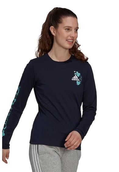 adidas Performance Bluza din bumbac cu imprimeu floral Femei