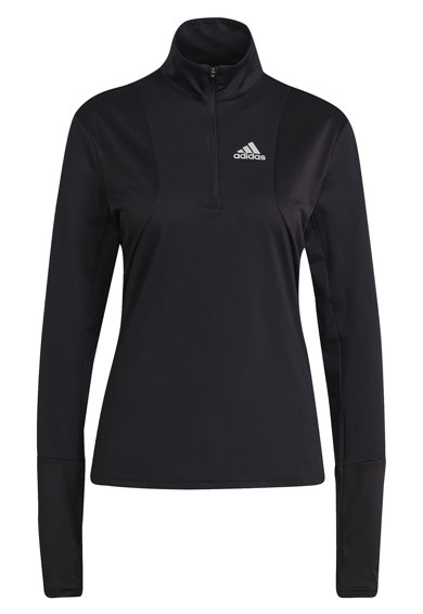 adidas Performance Bluza slim fit cu fenta cu fermoar pentru alergare Own The Run Femei