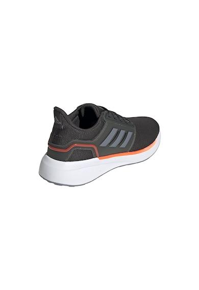 adidas Performance Pantofi de plasa cu detalii contrastante pentru alergare EQ19 Barbati