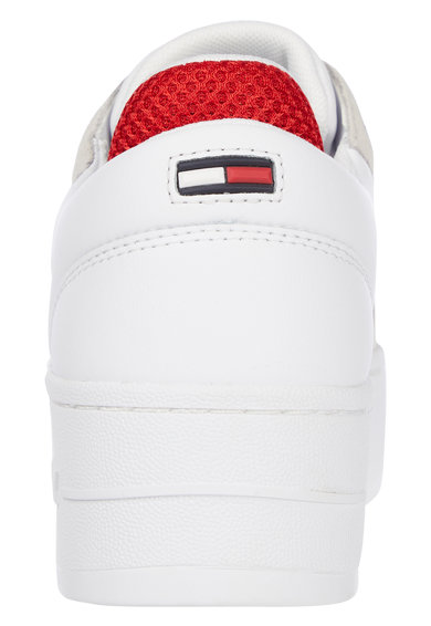Tommy Jeans Pantofi sport din piele si piele intoarsa cu talpa flatform Iconic Femei
