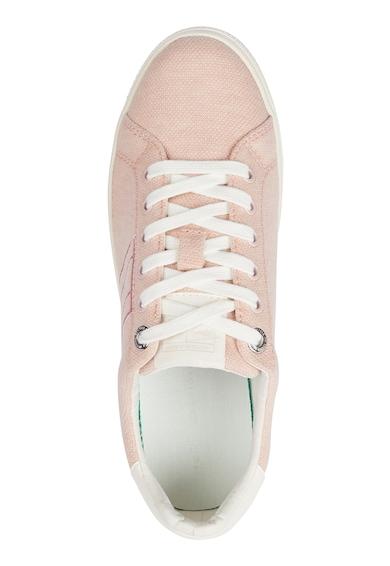 Tommy Hilfiger Pantofi sport din material textil cu broderie logo Femei