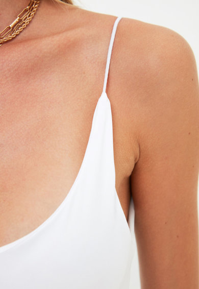 Trendyol Top cu spate decupat si bretele subtiri Femei