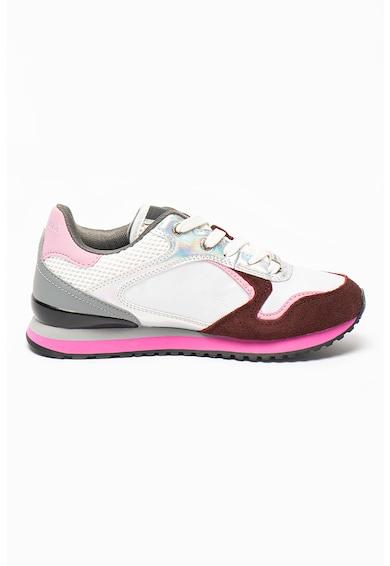 Trussardi Pantofi sport cu garnituri de piele ecologica Femei