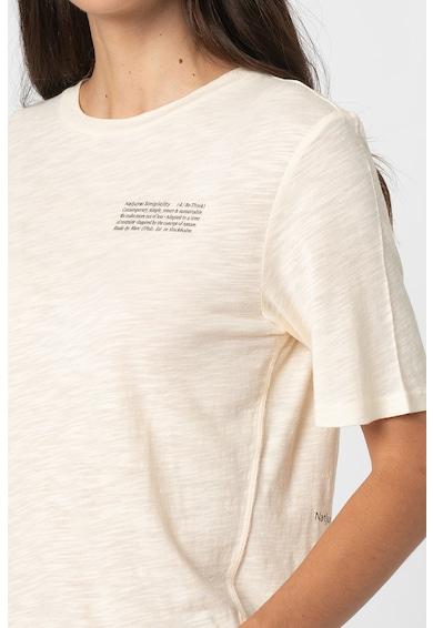 Marc O'Polo Tricou cu imprimeu si decolteu la baza gatului Femei