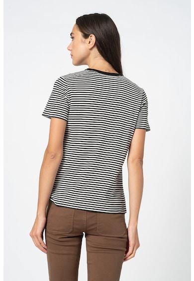 Marc O'Polo Tricou de bumbac organic cu dungi Femei
