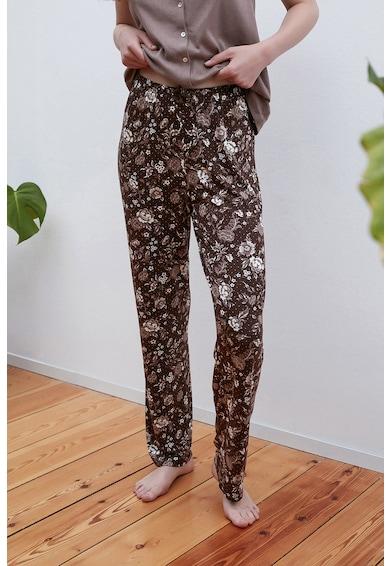 Penti Pantaloni de pijama cu imprimeu floral Femei