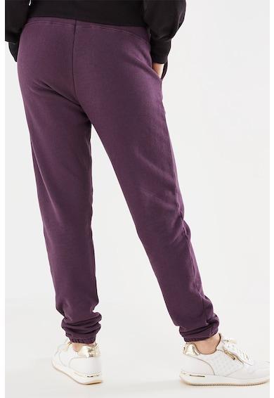 Mexx Pantaloni sport din amestec de bumbac cu talie elastica Femei