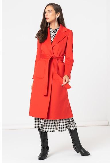 Max&Co Palton de lana cu revere decupate Runaway Femei