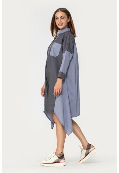 Antonia M Rochie tip camasa cu terminatie asimetrica Femei