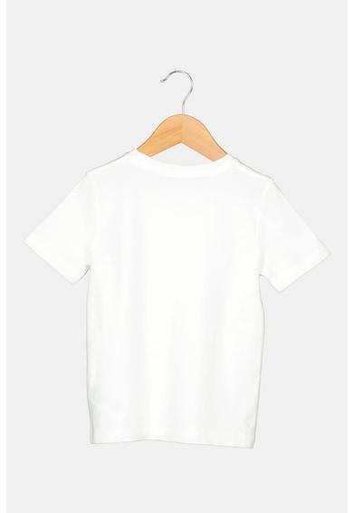 BOSS Kerek nyakú póló logós részlettel Fiú