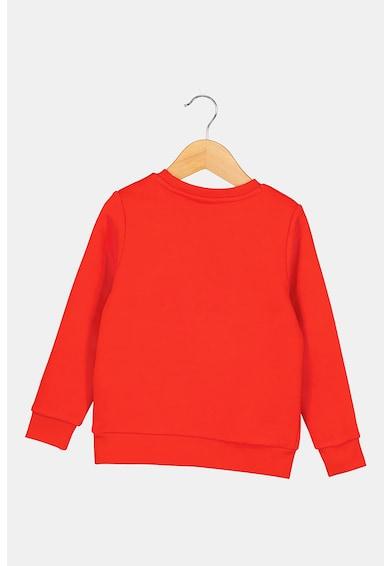 BOSS Kerek nyakú logós pulóver Fiú