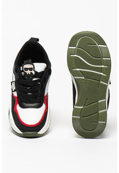 Karl Lagerfeld Sneaker műbőr részletekkel Lány
