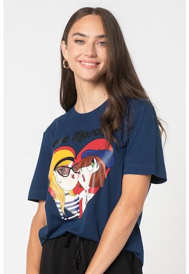 Love Moschino Tricou cu imprimeu grafic Femei