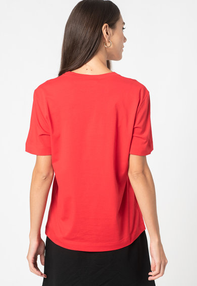 Love Moschino Tricou de bumbac cu imprimeu Femei