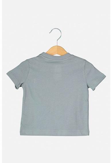 GAP Set 3 tricouri cu buzunar pe piept, baieti, cu imprimeu si uni, Rosu/Oranj/Gri Fete