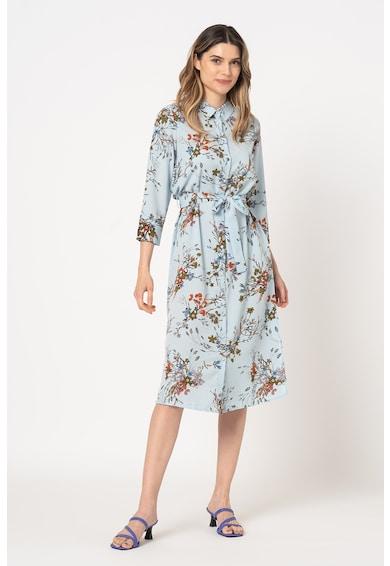 Vero Moda Rochie tip camasa cu imprimeu floral Megga Femei