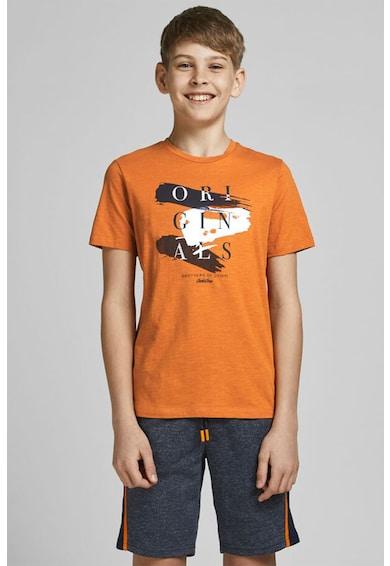 Jack&Jones Tricou de bumbac cu imprimeu logo Baieti