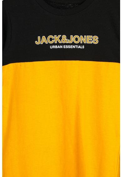 Jack&Jones Tricou de bumbac organic cu model colorblock Baieti