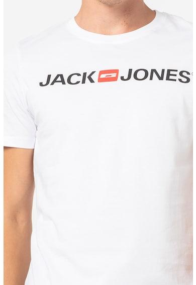 Jack&Jones Set de tricouri cu decolteu la baza gatului - 3 piese Barbati