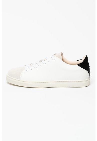 Selected Homme Pantofi sport din piele cu insertii din piele intoarsa David Barbati