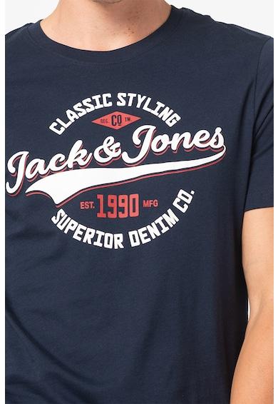 Jack&Jones Set de tricouri cu decolteu la baza gatului, 2 piese Barbati