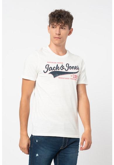 Jack&Jones Set de tricouri cu decolteu la baza gatului, 3 piese Barbati