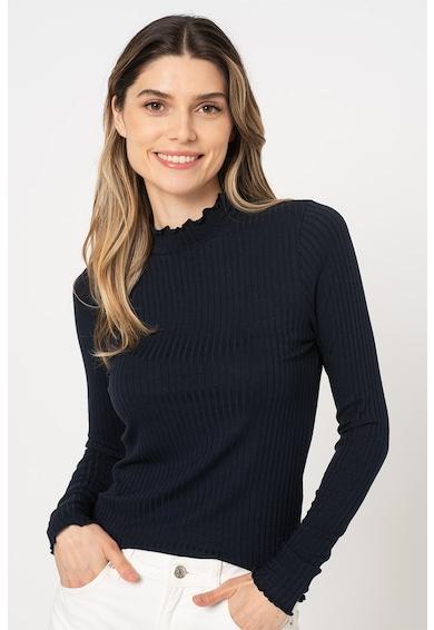 JdY Bluza cu aspect striat si terminatii valurite Fransiska Femei
