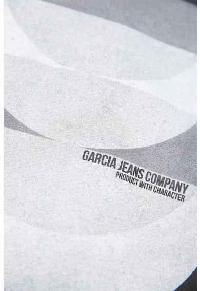Garcia Tricou de bumbac cu imprimeu grafic Barbati