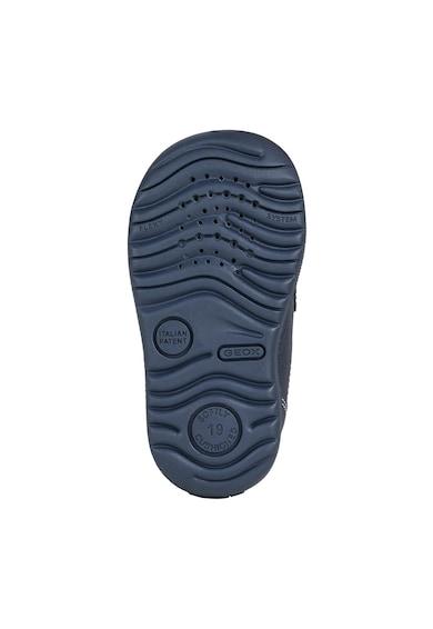 Geox Macchia tépőzáras bőr és nyersbőr cipő Fiú