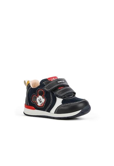 Geox Pantofi sport cu aplicatie Mickey Mouse Rishon Fete