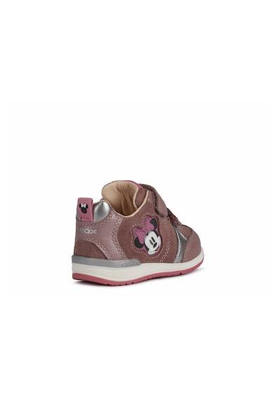 Geox Rishon bőr és műbőr sneaker Lány