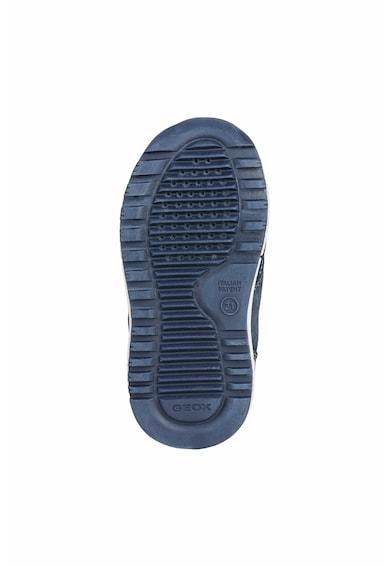 Geox Tépőzáras sneaker nyersbőr részletekkel Fiú