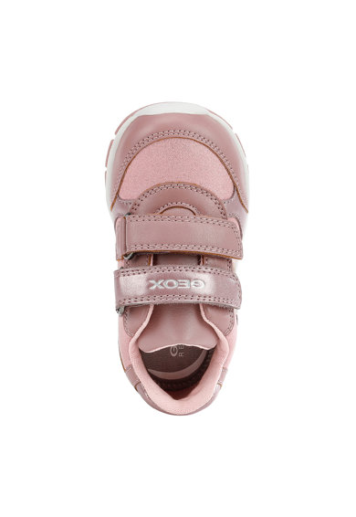 Geox Tépőzáras műbőr sneaker csillámos hatással Lány