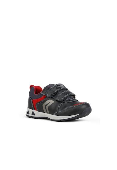 Geox Tépőzáras műbőr sneaker Fiú