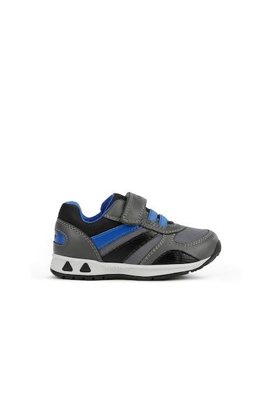 Geox Műbőr sneaker textilrészletekkel Fiú