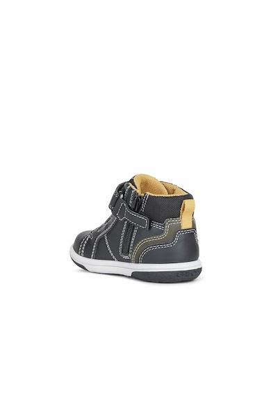 Geox Pantofi sport mid-high de piele ecologica Baieti