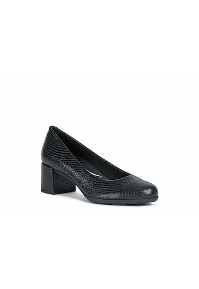 Geox New Annya kígyóbőr hatású bőrcipő női