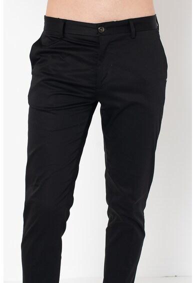 Liu Jo Pantaloni chino crop cu buzunare oblice Barbati